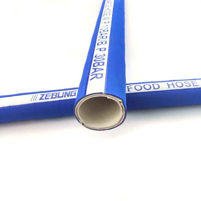 Blue Cover EPDM Rubber Hose For Milk / Drinking Water Delivery In Food Industry