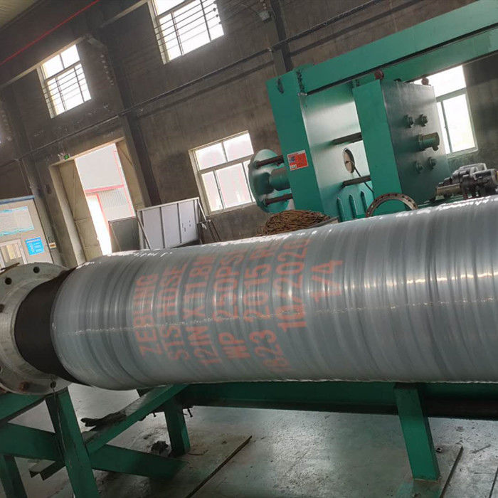 Dock Oil Suction Discharge Pipe , Fuel Delivery Tank Truck Hose Abrasion Resistant
