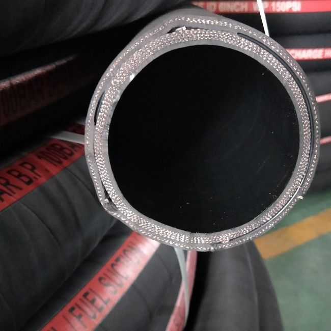 Tank Truck Oil Suction And Discharge Hose High Temperature Custom Size